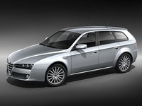 alfa romeo 159 sportwagon 3d model