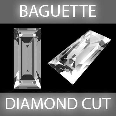 Baguette Diamond cut