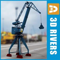 Bulk-handling harbor crane by 3DRivers