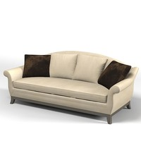 marie`s corner georgia sofa upholsterred modern contemporary curved back