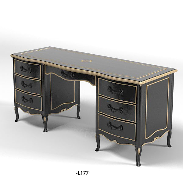 savio firmino classic table desk 3059 home office