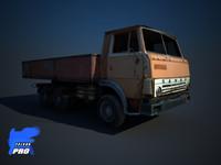 kamaz truck 3d max
