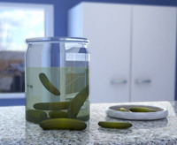 Pickle Jar & Pickles