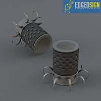 landmines ieds 3d model