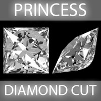 Princess Diamond cut