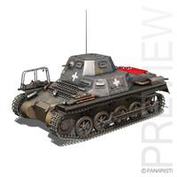 SD.KFZ 265 Kl. Panzerbefehlswagen - Command Tank