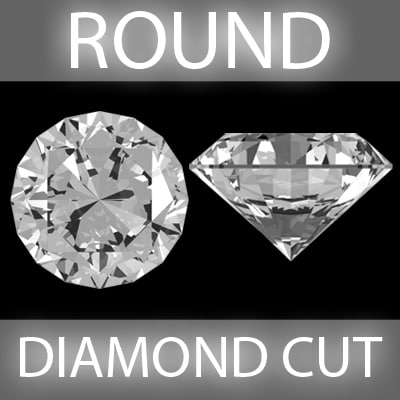 Round Brilliant Diamond cut