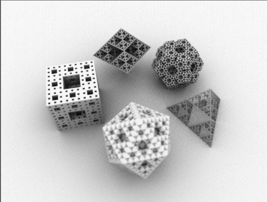 platonic fractals