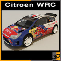 rally sebastian loeb 3d model