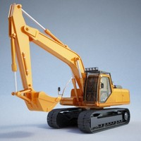 Construction equipment - Excavator01