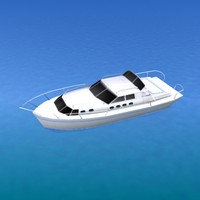 ship yacht 3d 3ds