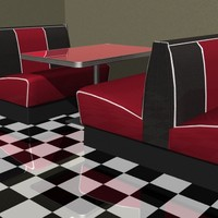 lightwave diner booth