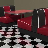 Diner Scene