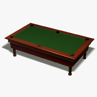 billiard pool 3d model