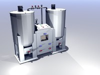 Dual Tank Mixing System
