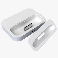 3d apple dock adapter model