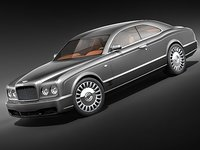 bentley brookland 3d model
