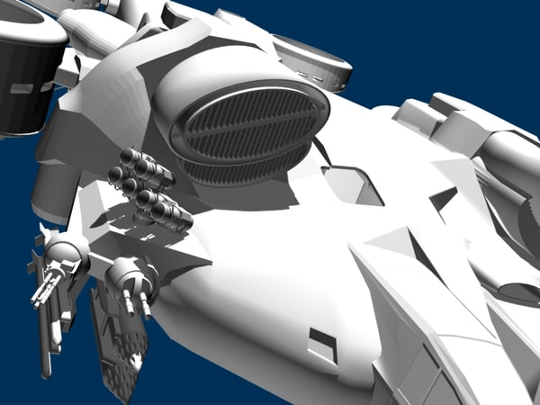 big gunship avatar 3d model - avatar2009 Big Heli Gunship... by 3D.A.G