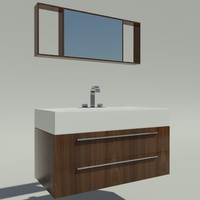 washbasin 3d obj