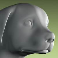 puppy statue