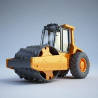 Construction equipment - Roller02