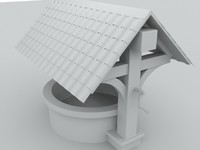 3d model water outdoor