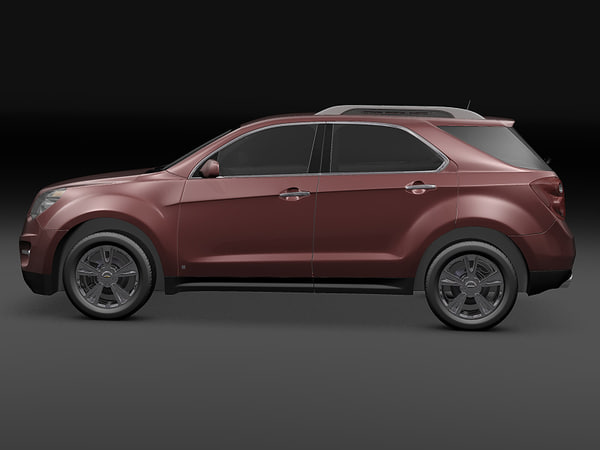chevrolet equinox 3d model - 2010 Chevrolet Equinox... by 3dKen
