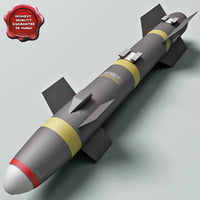 Aircraft Missile AGM-114 Hellfire