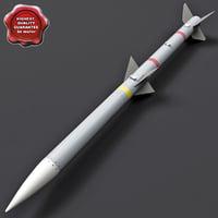 Aircraft Missile AIM-120 AMRAAM