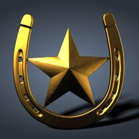 Horseshoe w star