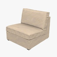armchair ikea kivik 3d model