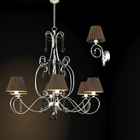 baga 1130 classic contemporary chandelier modern sconce