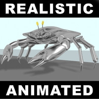 crab robotic 3d model