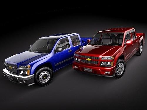 Chevrolet Colorado 2004-2010 crew cab