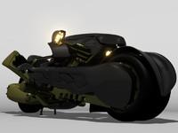fenrir motorcycle 3d model