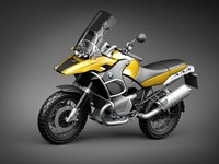 bmw r1200gs adventure r 3d model