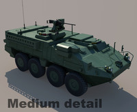 3ds max m1126 stryker
