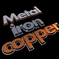 metal text max