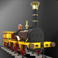 "Stephenson""s Patent Locomotive of 1836"