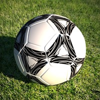 soccerball ball 3d model