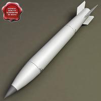 3d model aircraft bomb b-61