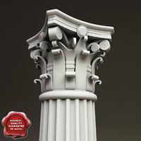 Corinthian Order Column