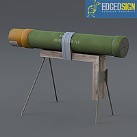 ied improvised anti-tank 3d model