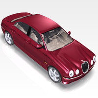 Jaguar S Type  3D
