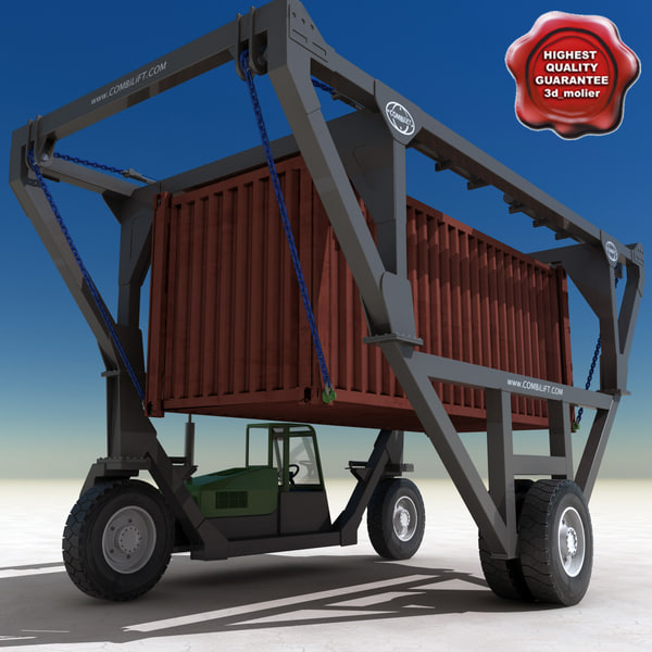 Straddle Carrier 3 Wheels