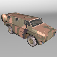 bushmaster transport 3d model