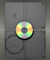 3d model dvd cd case