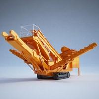 3dsmax impact crusher construction -