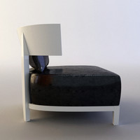 comfortable armchair 3d model