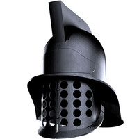 gladiator helmet 3d model